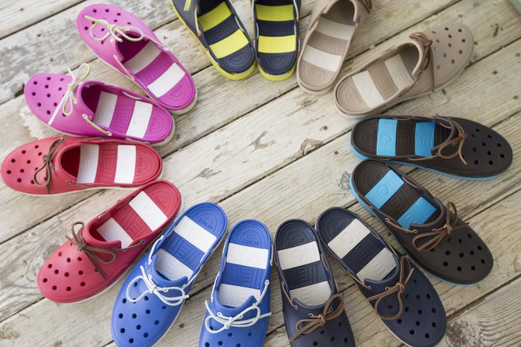fenomen sandałów crocs