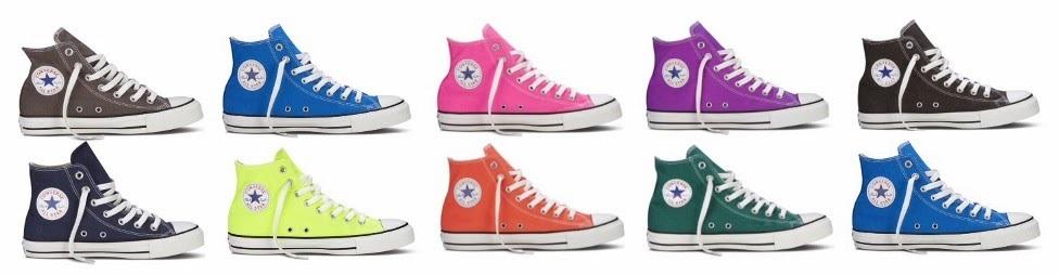 trampki converse kolory