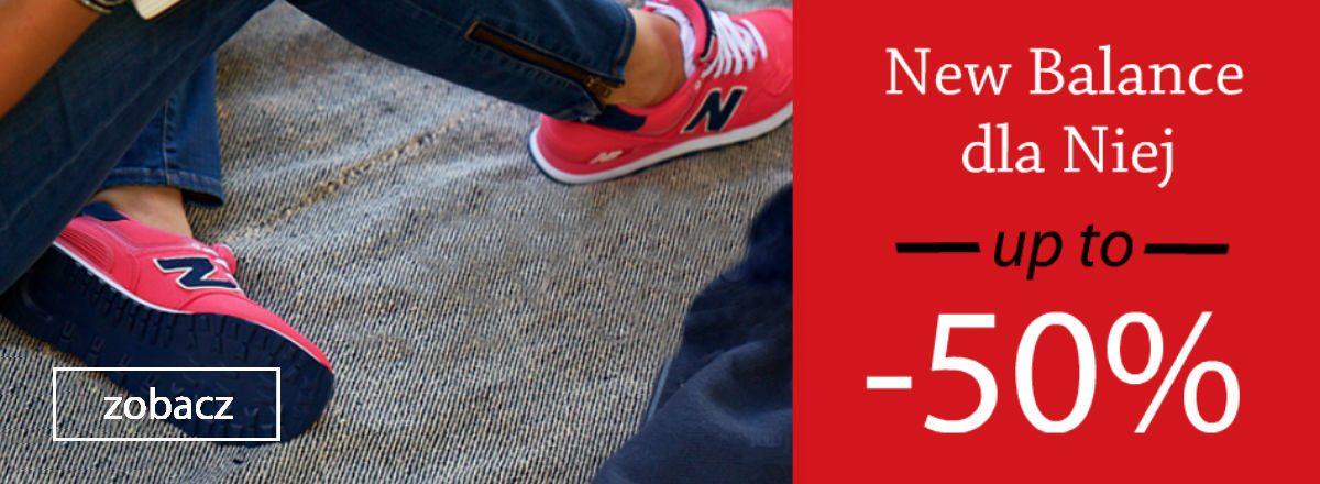 wyprzedaż damskich butów new balance sporting wałbrzych