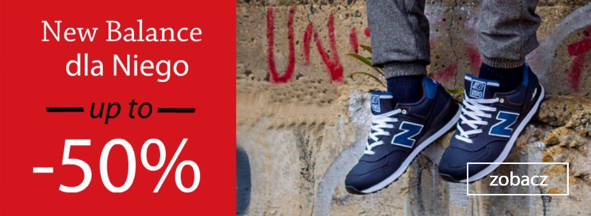 wyprzedaż męskich butów new balance sporting wałbrzych