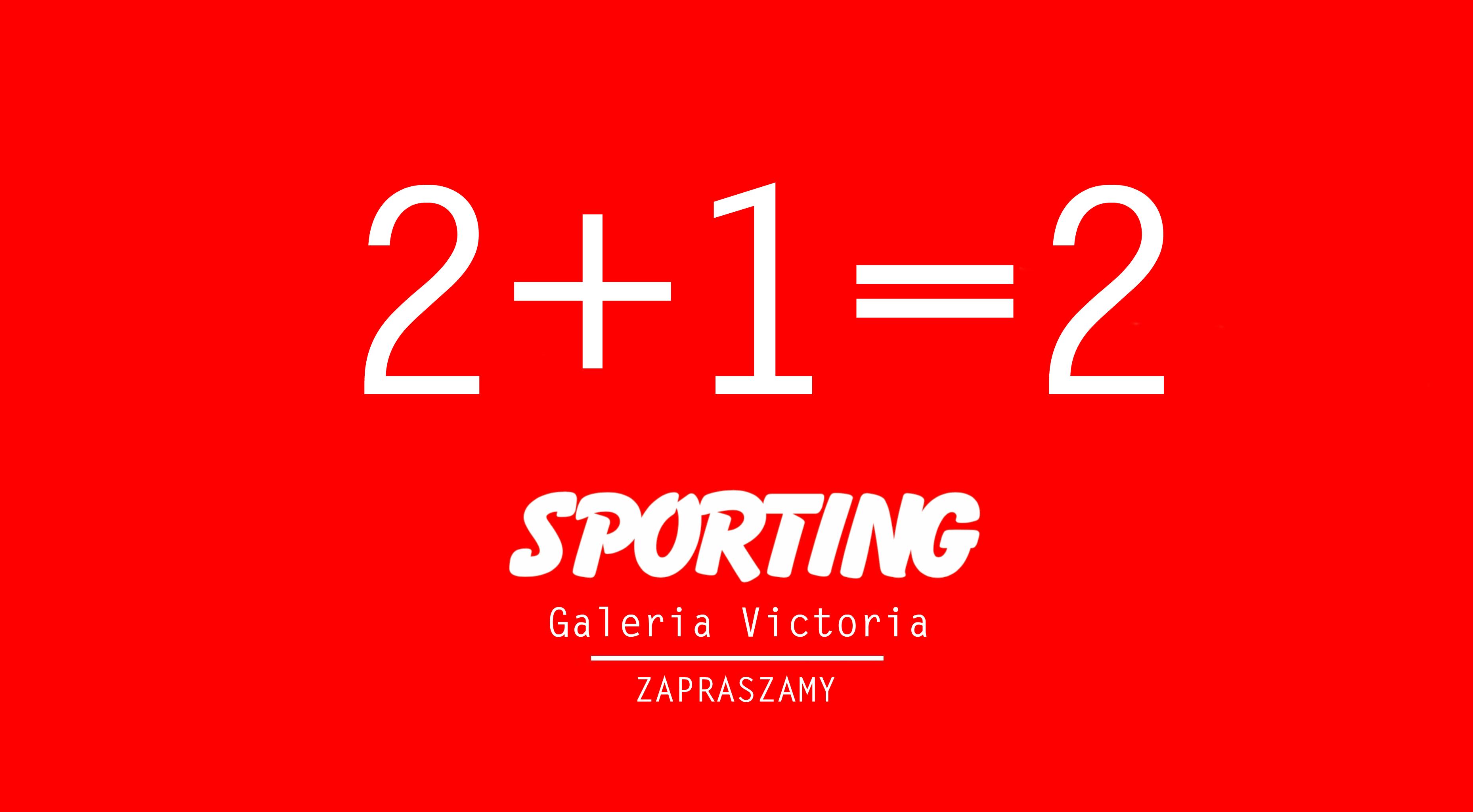 likwidacja sklepu sporting galeria victoria wałbrzych